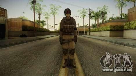 Resident Evil ORC - USS v2 für GTA San Andreas zweiten Screenshot