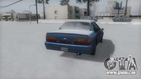 Previon Winter IVF pour GTA San Andreas vue de droite