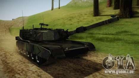 Abrams Tank Woolant Camo pour GTA San Andreas vue de droite
