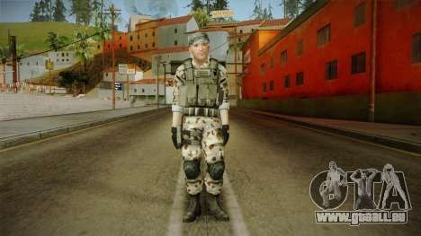 Resident Evil ORC Spec Ops v4 für GTA San Andreas zweiten Screenshot