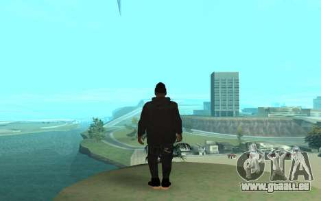 Winter Gangster für GTA San Andreas dritten Screenshot