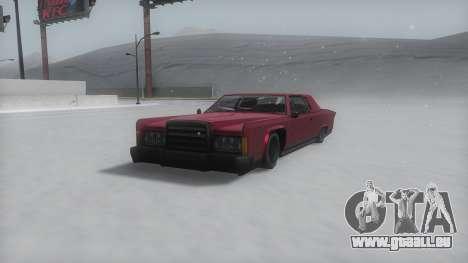 Remington Winter IVF pour GTA San Andreas