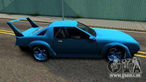 New Buffalo Custom pour GTA San Andreas laissé vue