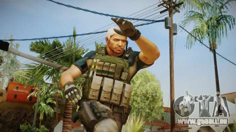 Resident Evil 6 - Chris Asia Bsaa pour GTA San Andreas