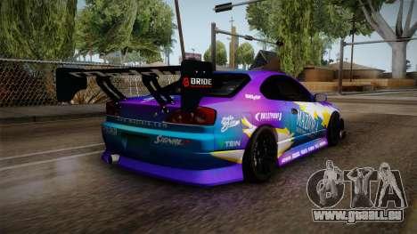Nissan Silvia S15 BN-Sports pour GTA San Andreas laissé vue