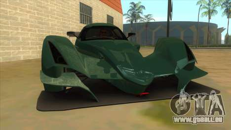 Praga R1 pour GTA San Andreas vue arrière