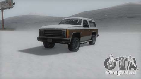 Rancher Winter IVF pour GTA San Andreas