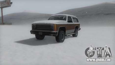 Rancher Winter IVF pour GTA San Andreas