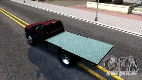 Chevrolet HD 3500 2013 für GTA San Andreas zurück linke Ansicht
