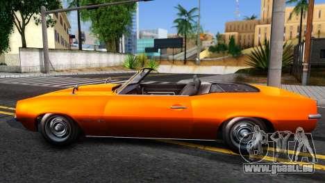 GTA V Declasse Vigero Retro Rim pour GTA San Andreas laissé vue