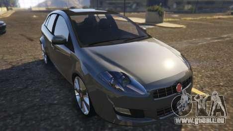 Fiat Bravo 2011 pour GTA 5