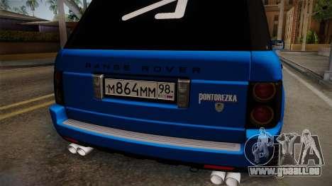 Range Rover 2008 für GTA San Andreas Seitenansicht