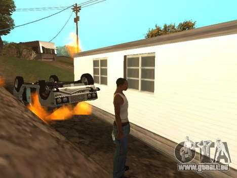 VAZ 2101 (06) Garage 54 pour GTA San Andreas vue intérieure