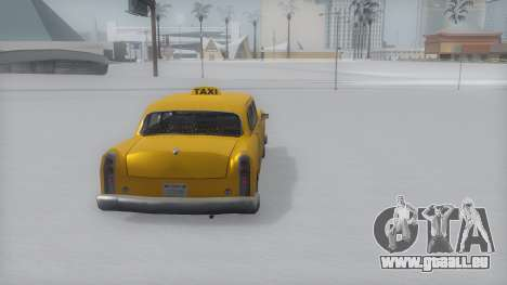Cabbie Winter IVF für GTA San Andreas linke Ansicht