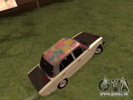 VAZ 2101 (06) Garage 54 pour GTA San Andreas vue de droite
