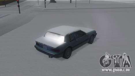 Bravura Winter IVF pour GTA San Andreas laissé vue