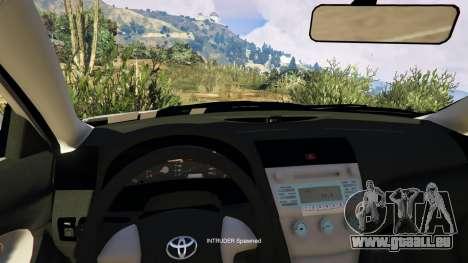 GTA 5 Toyota Camry 2011 DoN DoN Edition rechte Seitenansicht