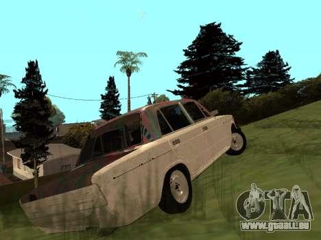 VAZ 2101 (06) Garage 54 für GTA San Andreas zurück linke Ansicht
