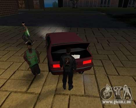 Pour transporter le cadavre de 2016 pour GTA San Andreas neuvième écran