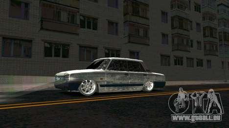 2107 Classique 2 Winter edition pour GTA San Andreas laissé vue