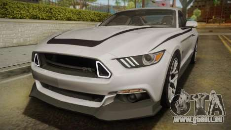 Ford Mustang RTR Spec 2 2015 für GTA San Andreas obere Ansicht