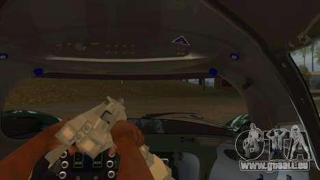 Praga R1 pour GTA San Andreas vue intérieure