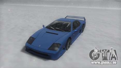 Turismo Winter IVF pour GTA San Andreas