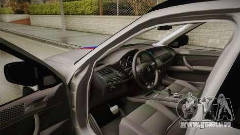 BMW X5M 2012 Special pour GTA San Andreas vue de côté