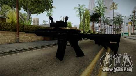 HK416 v2 pour GTA San Andreas troisième écran