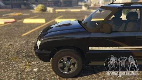 GTA 5 Chevrolet Blazer 4x4 rechte Seitenansicht