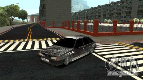2109 version Hiver pour GTA San Andreas
