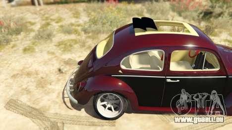 GTA 5 Volkswagen Beetle hinten rechts
