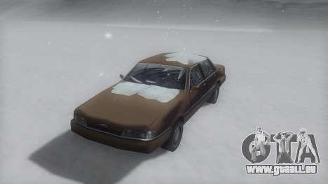 Primo Winter IVF pour GTA San Andreas