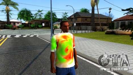 Mix T-Shirt pour GTA San Andreas deuxième écran