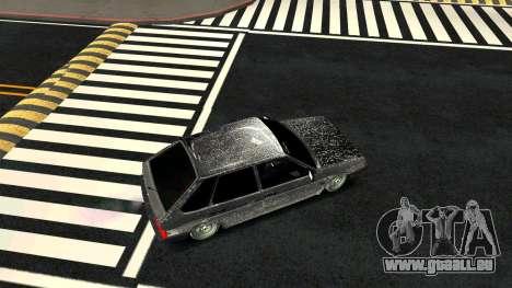 2109 version Hiver pour GTA San Andreas vue de droite