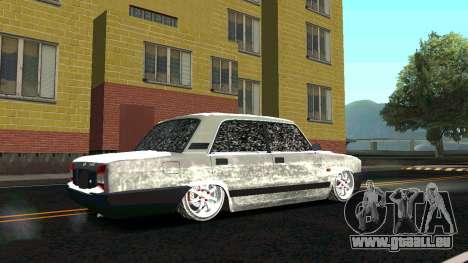 2107 Classique 2 Winter edition pour GTA San Andreas vue de droite