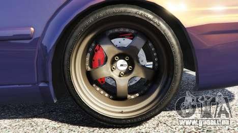 GTA 5 Toyota Chaser (JZX100) [add-on] arrière droit vue de côté