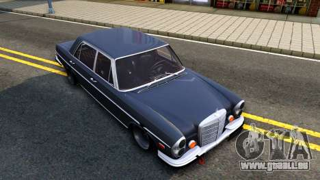Mercedes-Benz 300SEL 6.3 für GTA San Andreas Unteransicht