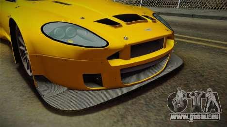Aston Martin Racing DBRS9 GT3 2006 v1.0.6 Dirt für GTA San Andreas Motor