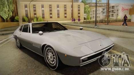 Maserati Ghibli v0.1 (Beta) pour GTA San Andreas