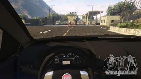 GTA 5 Fiat Bravo 2011 rechte Seitenansicht