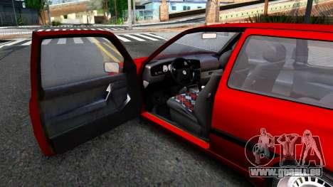 Volkswagen Golf Mk3 1997 für GTA San Andreas Rückansicht
