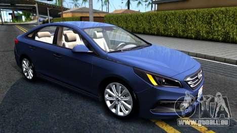 Hyundai Sonata 2016 pour GTA San Andreas laissé vue