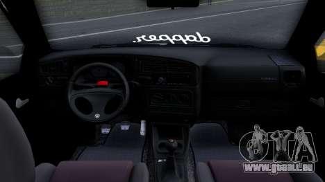 Volkswagen Golf 3 Low pour GTA San Andreas vue arrière