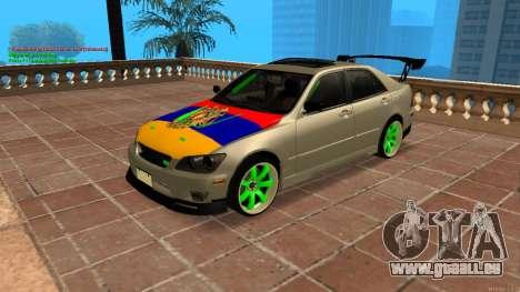 Toyota Altezza Armenian für GTA San Andreas