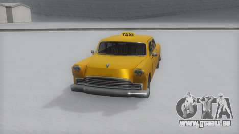 Cabbie Winter IVF für GTA San Andreas