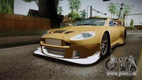 Aston Martin Racing DBRS9 GT3 2006 v1.0.6 YCH für GTA San Andreas