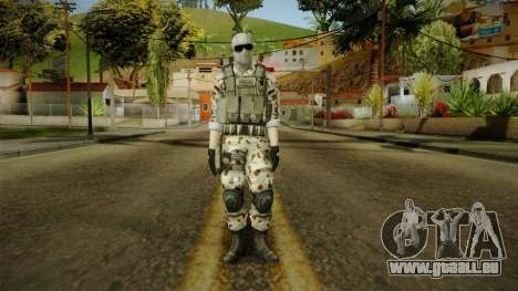 Resident Evil ORC Spec Ops v2 für GTA San Andreas zweiten Screenshot