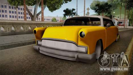 Custom Cab pour GTA San Andreas vue de droite