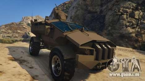 Punisher Khaki Armed Version für GTA 5